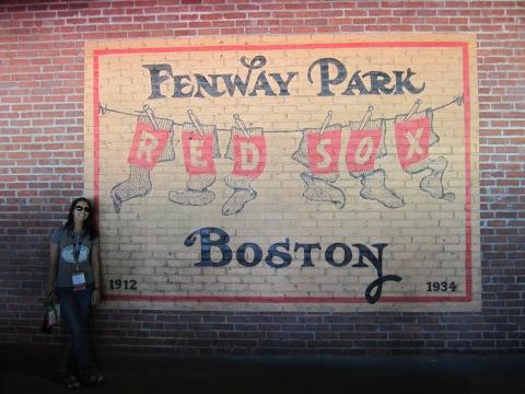 Fenway Park Wall