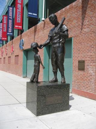 Fenway Statue