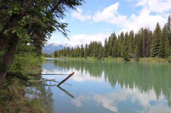 Cave and Basin Lake