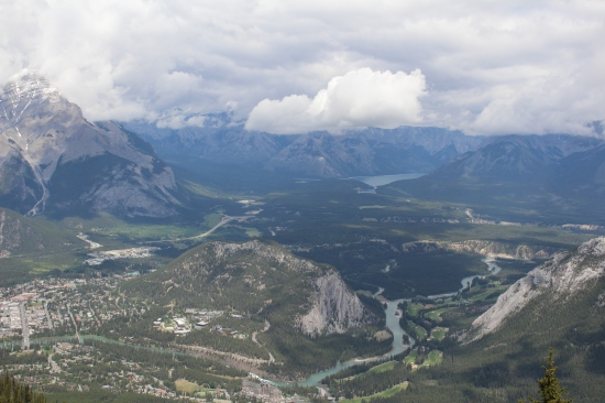 Banff Gondola top