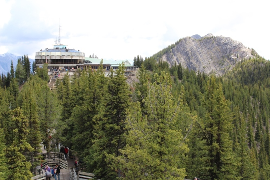 Banff Gondola Full View